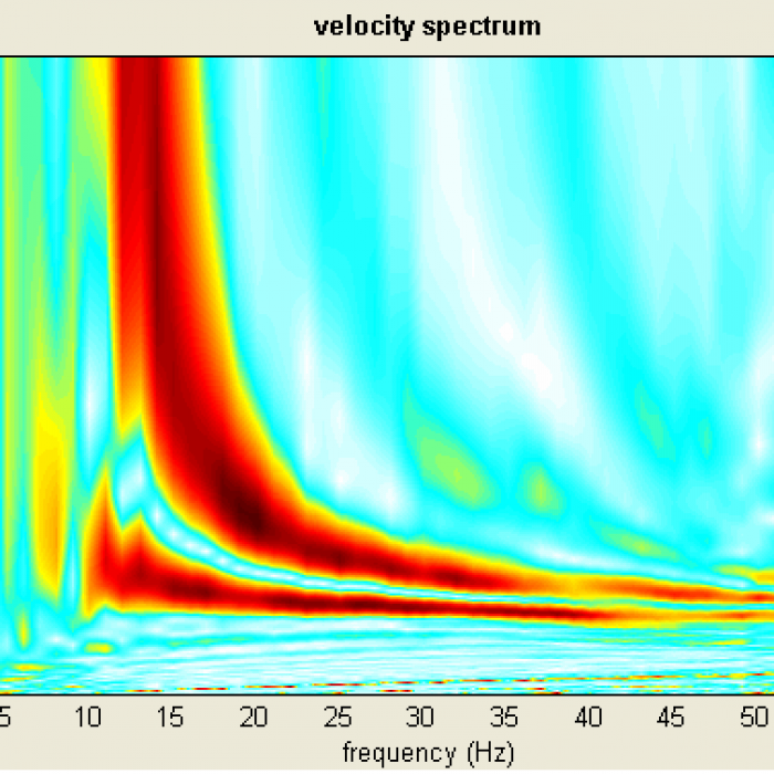 Multichannel Analisys Surface Wave